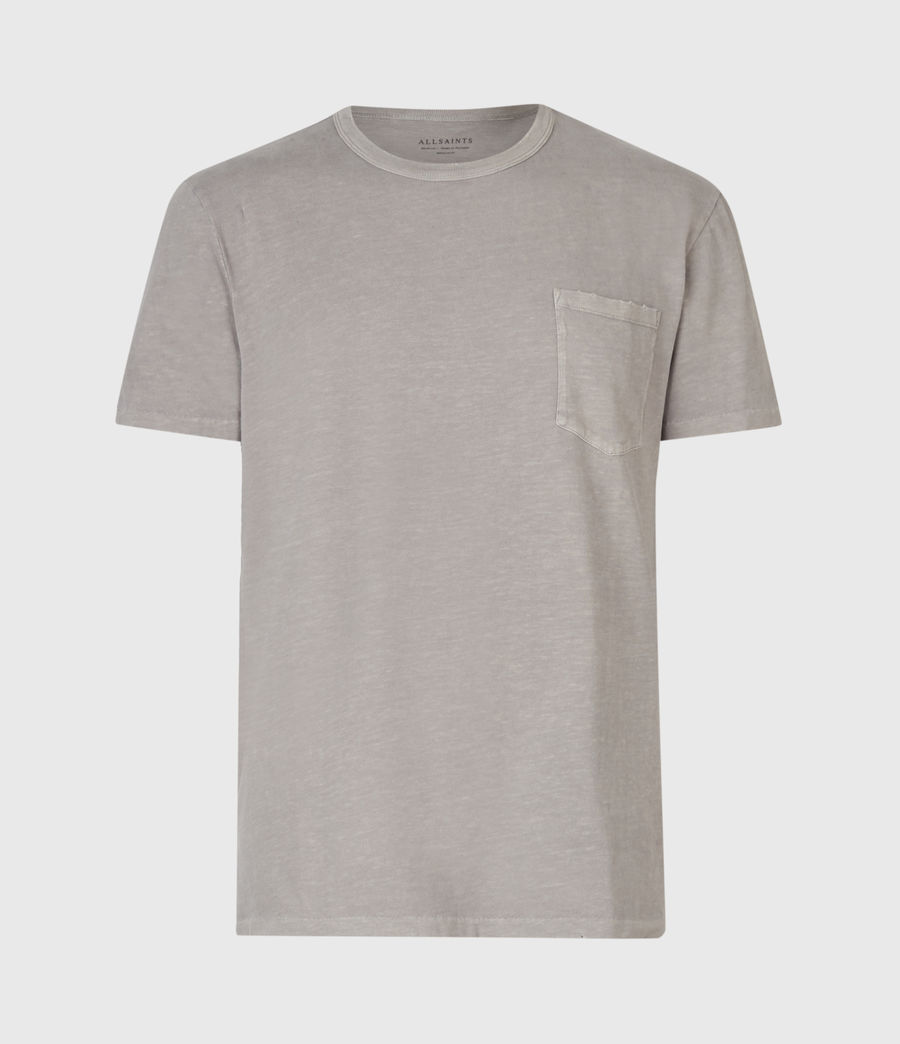 Herren Pilot Crew T-Shirt (putty_grey) - Image 2