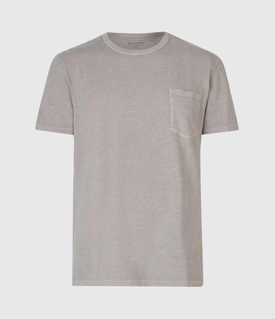Mens Pilot Crew T-Shirt (putty_grey) - Image 2