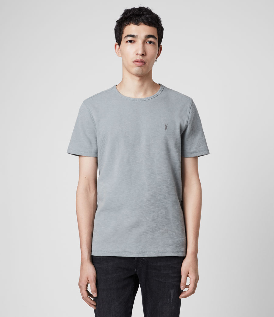 Men's Muse Crew T-Shirt (mist_blue) - Image 1