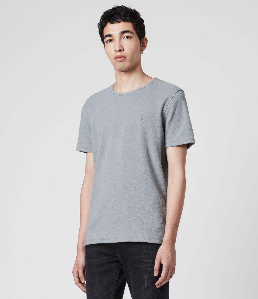 Men's Muse Crew T-Shirt (mist_blue) - Image 4
