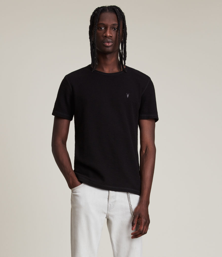Mens Muse Short Sleeve Crew T-Shirt (jet_black) - Image 1
