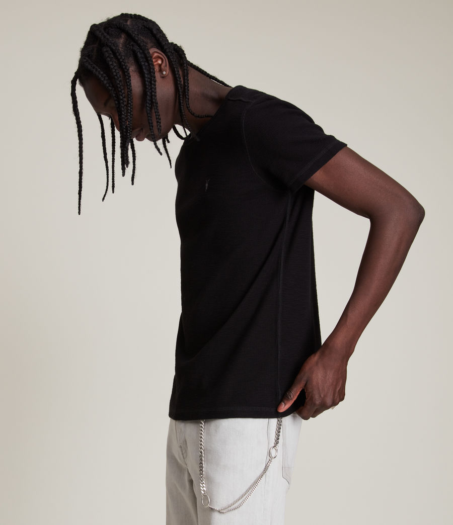 Men's Muse Short Sleeve Crew T-Shirt (jet_black) - Image 3