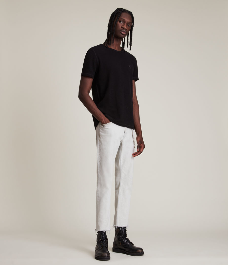 Men's Muse Short Sleeve Crew T-Shirt (jet_black) - Image 4