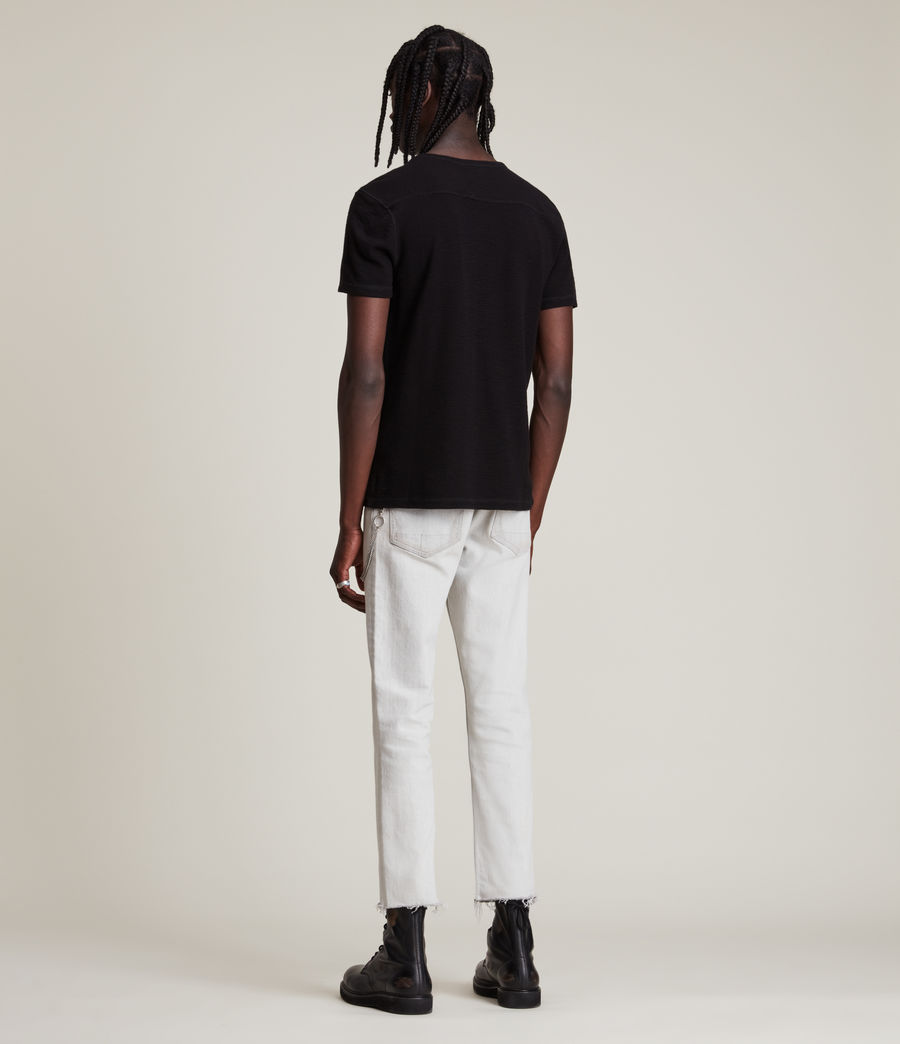 Men's Muse Short Sleeve Crew T-Shirt (jet_black) - Image 5