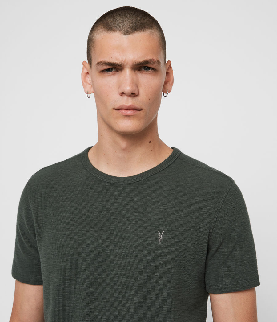 Men's Muse Short Sleeve Crew T-Shirt (pewter_green) - Image 2