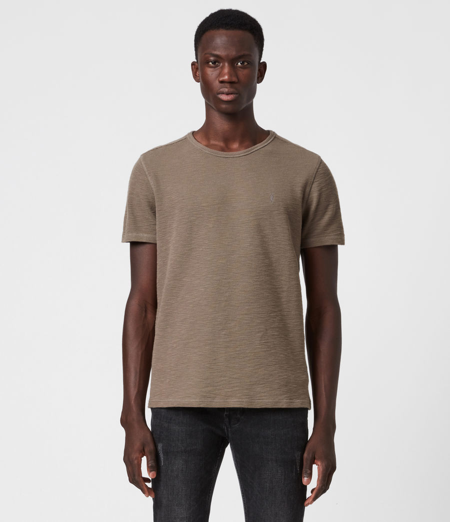Men's Muse Crew T-Shirt (burnished_grey) - Image 1