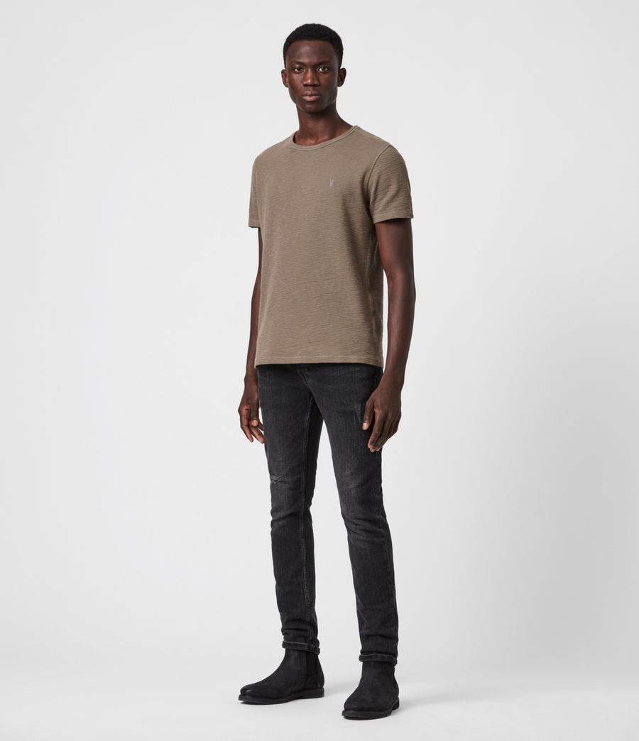 Men's Muse Crew T-Shirt (burnished_grey) - Image 4