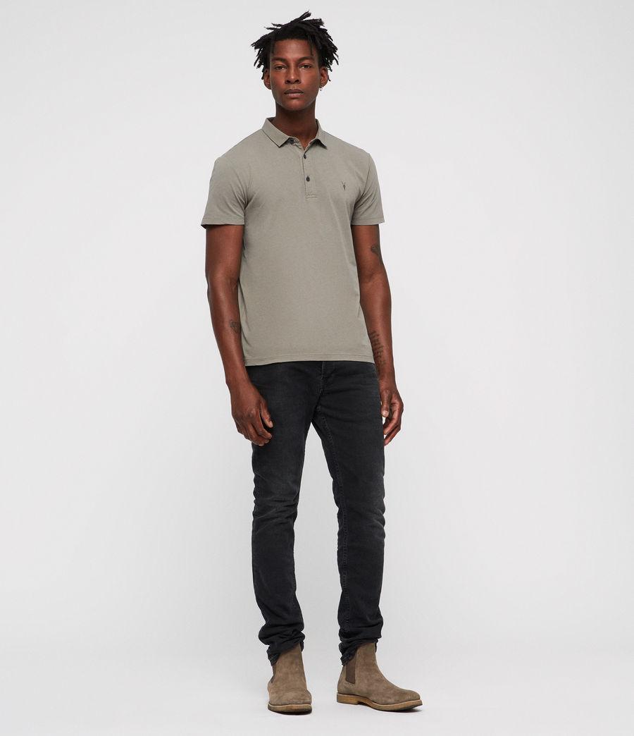 Hombres Brett Polo Shirt (mine_grey) - Image 3