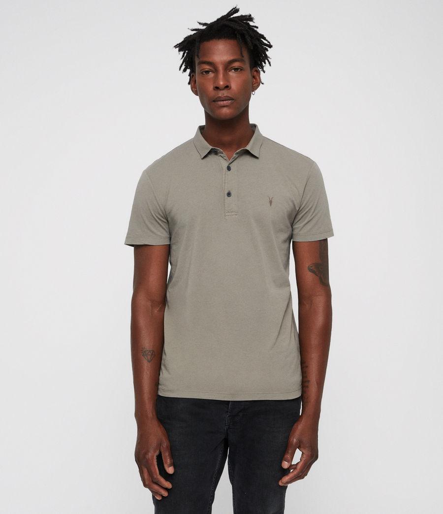 Hombres Brett Polo Shirt (mine_grey) - Image 4