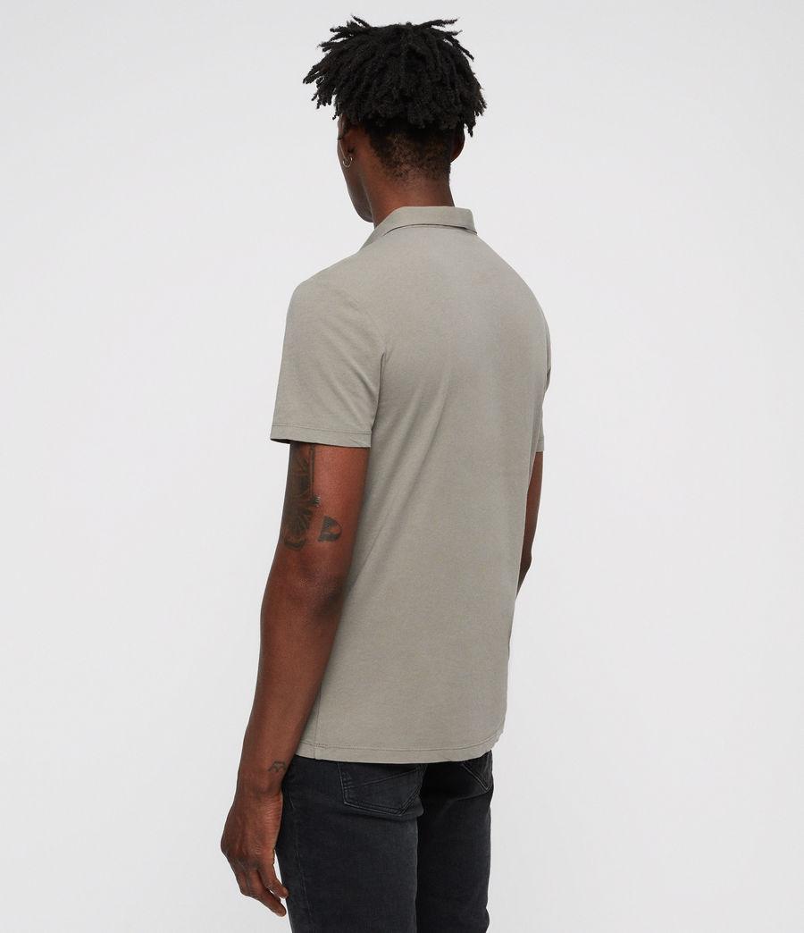 Hombres Brett Polo Shirt (mine_grey) - Image 5
