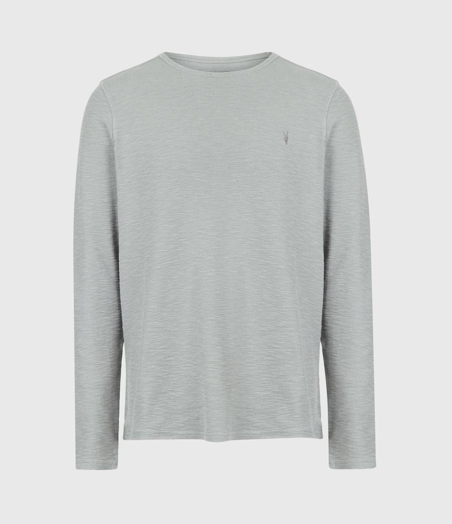 Mens Muse Long Sleeve Crew T-Shirt (parma_grey) - Image 2
