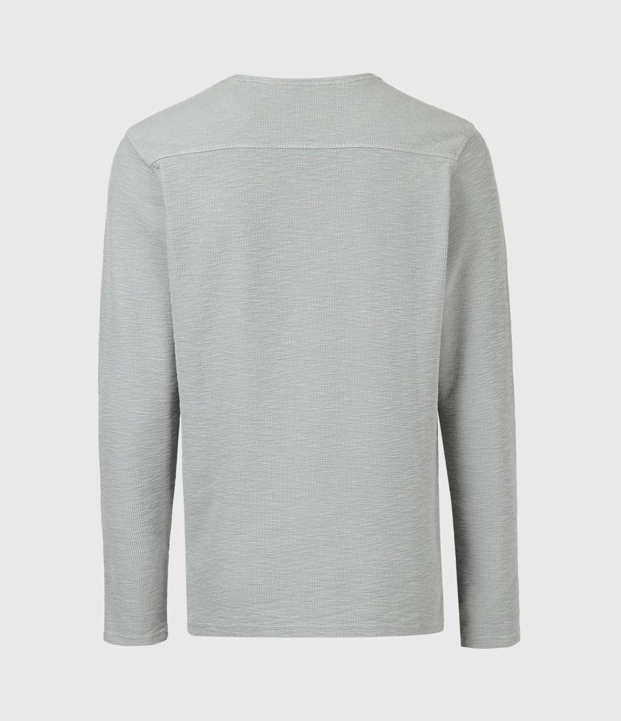 Mens Muse Long Sleeve Crew T-Shirt (parma_grey) - Image 3