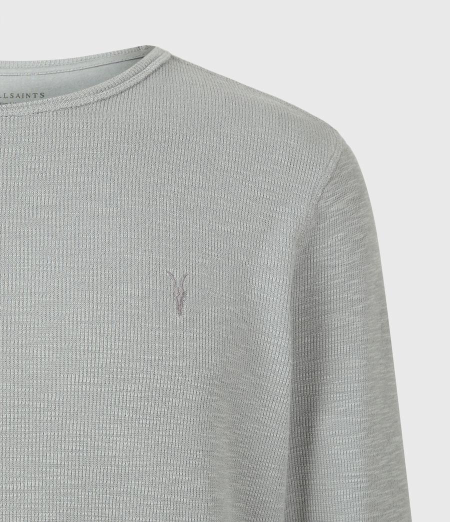 Mens Muse Long Sleeve Crew T-Shirt (parma_grey) - Image 5