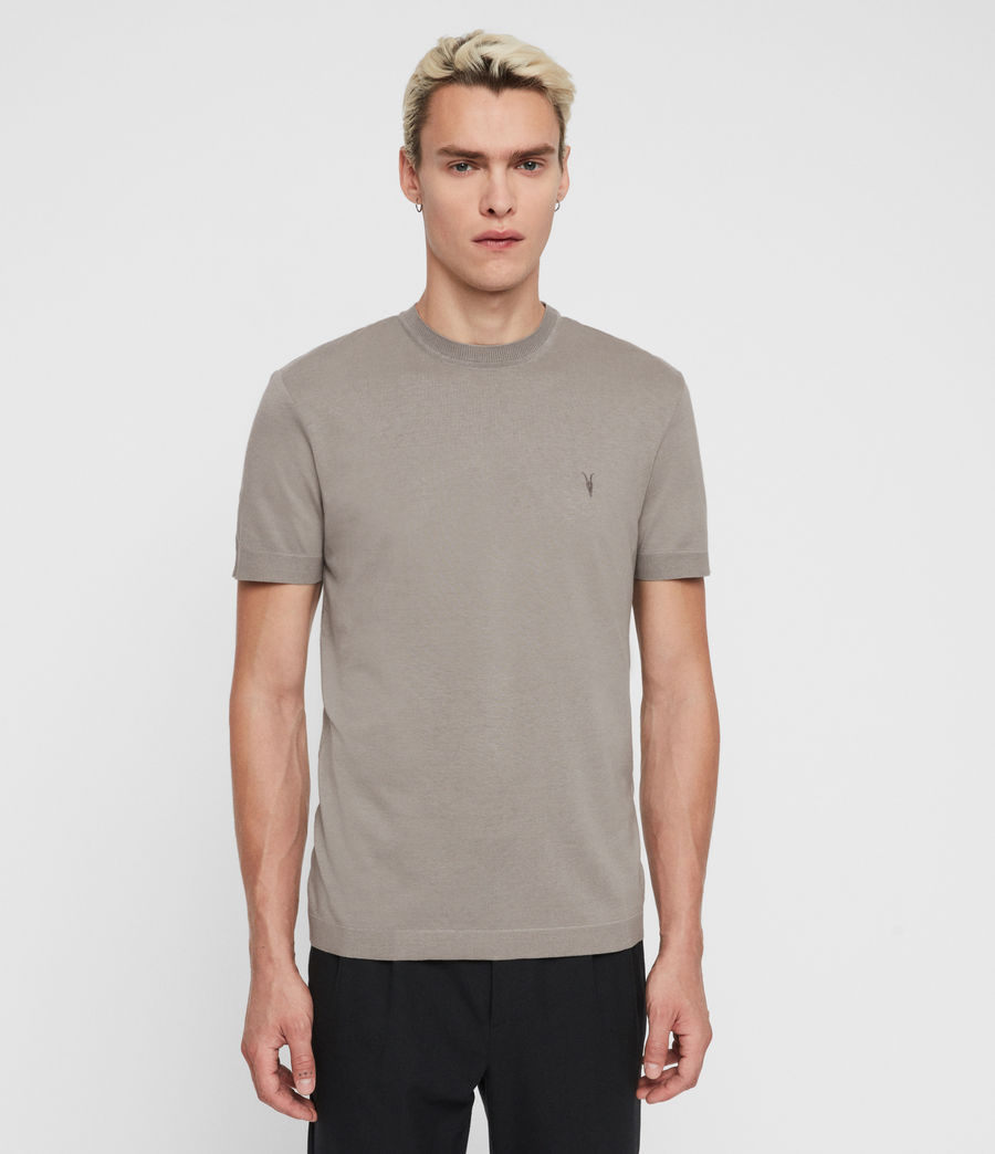 Men's Parlour Crew T-Shirt (jet_black) - Image 1