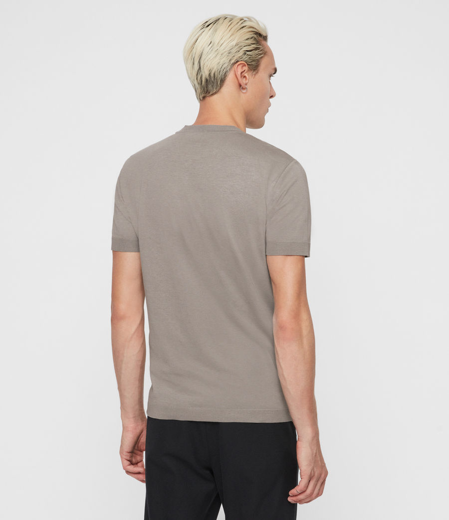 Men's Parlour Crew T-Shirt (jet_black) - Image 4