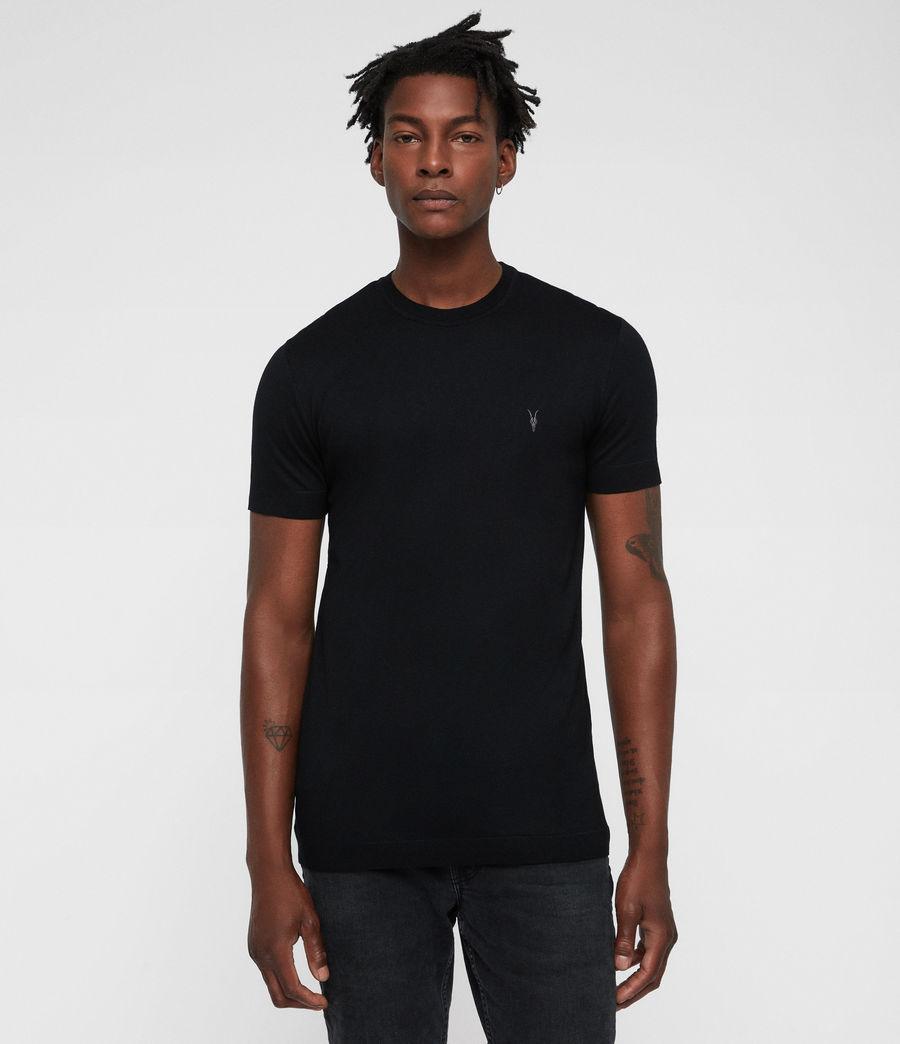 Mens Parlour Crew T-Shirt (black) - Image 3