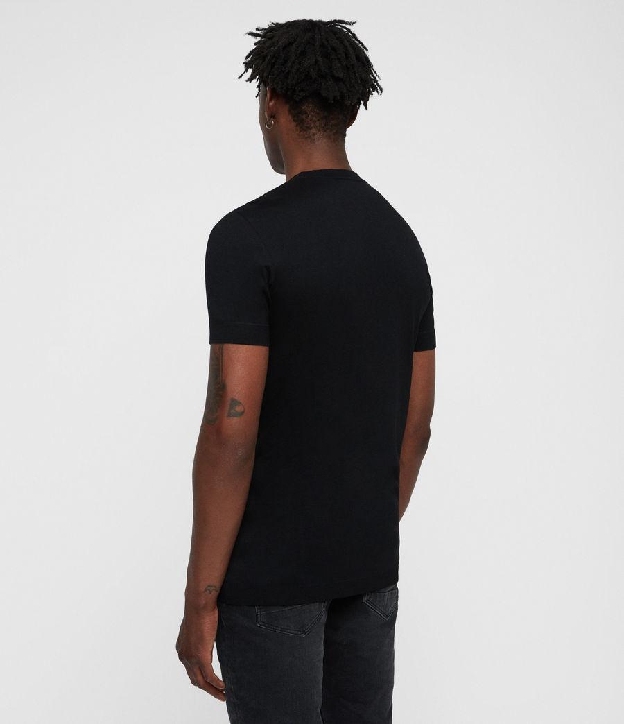 Hombres Parlour Crew T-Shirt (black) - Image 5