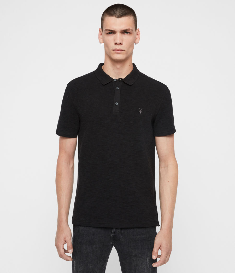 Uomo Polo Muse - Slim in cotone a maniche corte (optic_white) - Image 1