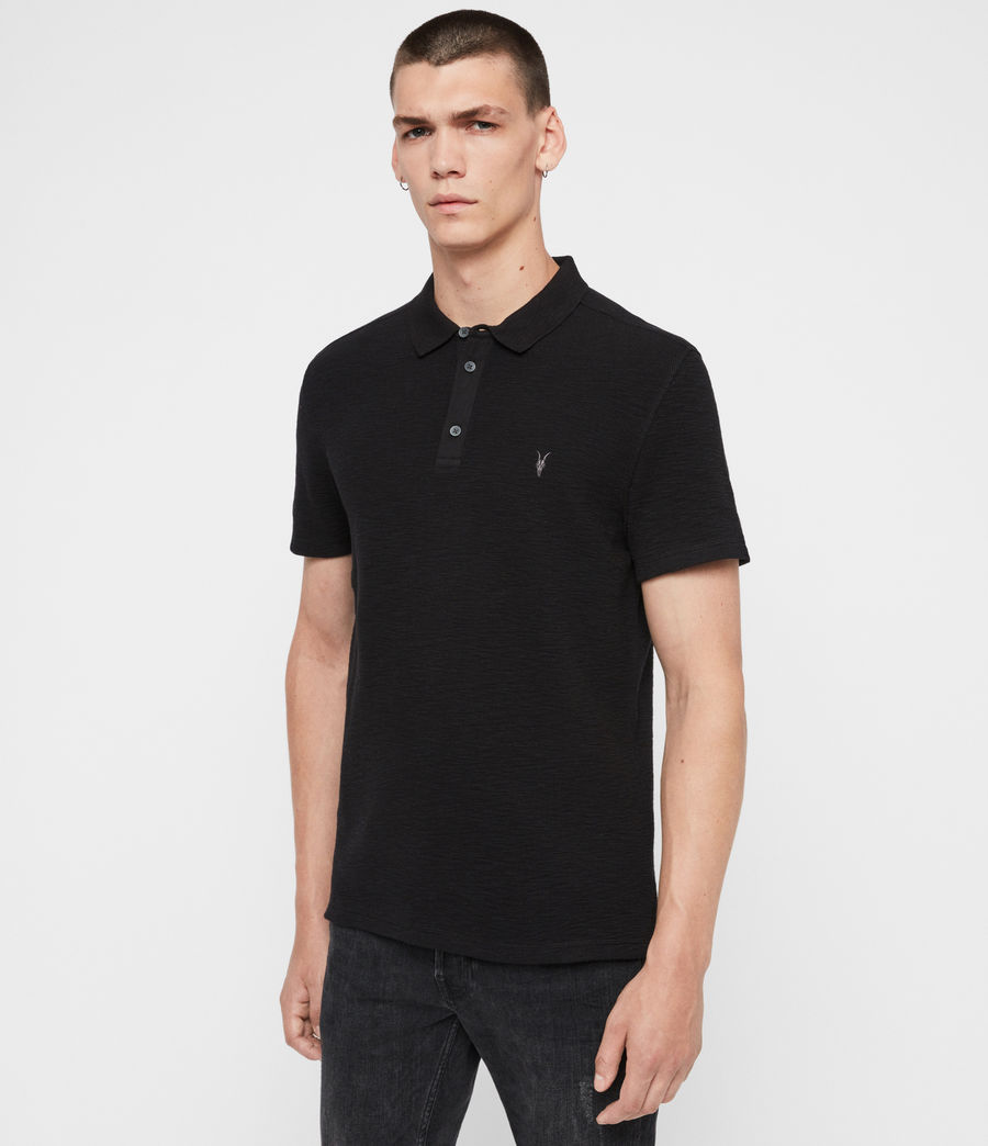 Uomo Polo Muse - Slim in cotone a maniche corte (optic_white) - Image 4