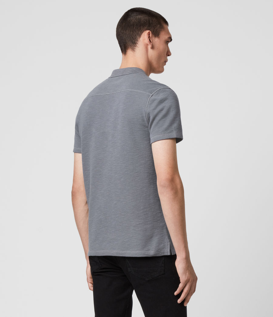 Men's Muse Short Sleeve Polo Shirt (flint_grey) - Image 5