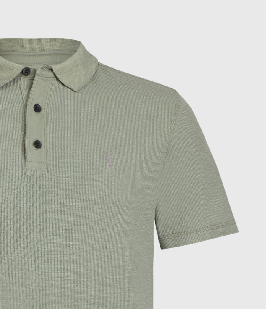 Men's Muse Short Sleeve Polo Shirt (flint_grey) - Image 4