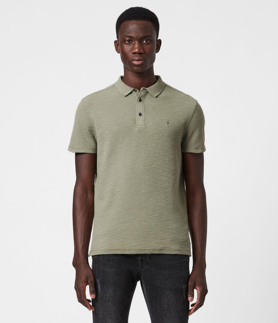 Men's Muse Short Sleeve Polo Shirt (flint_grey) - Image 1
