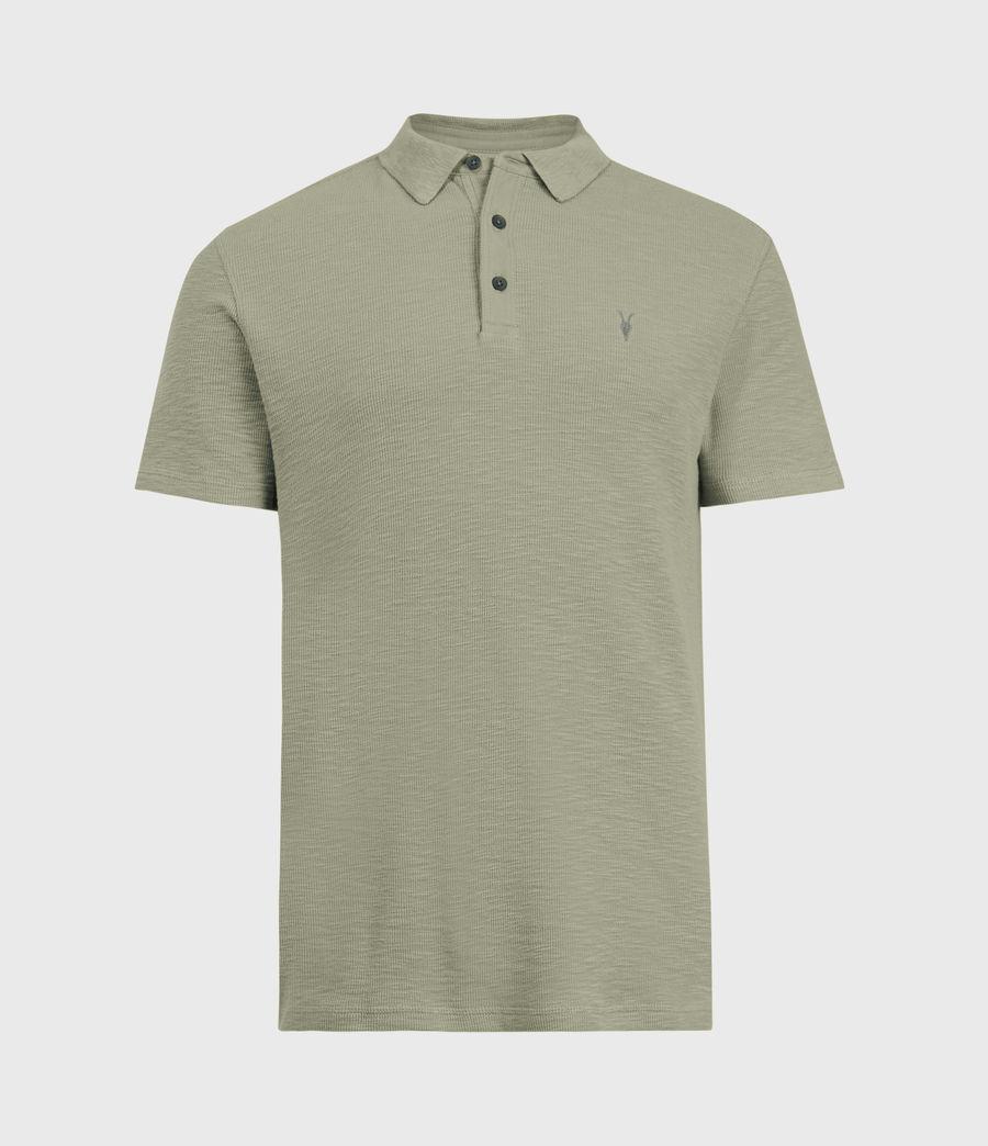 Men's Muse Short Sleeve Polo Shirt (flint_grey) - Image 2