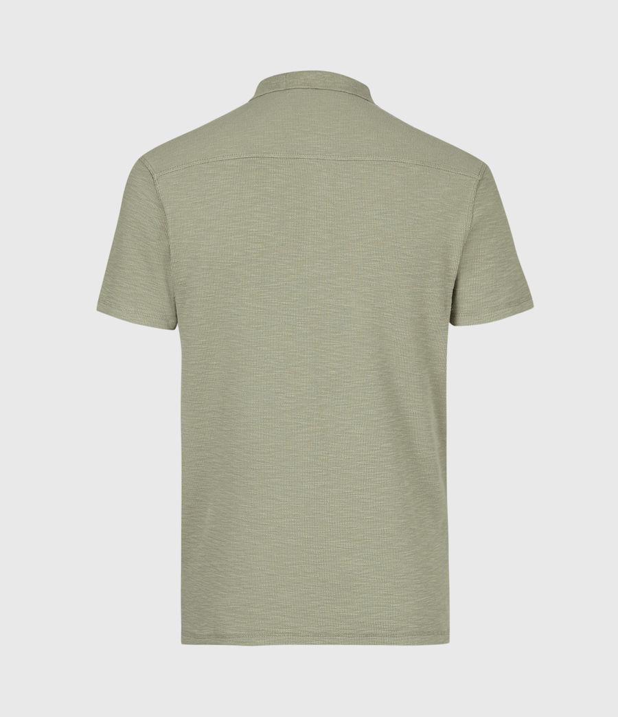 Men's Muse Short Sleeve Polo Shirt (flint_grey) - Image 3