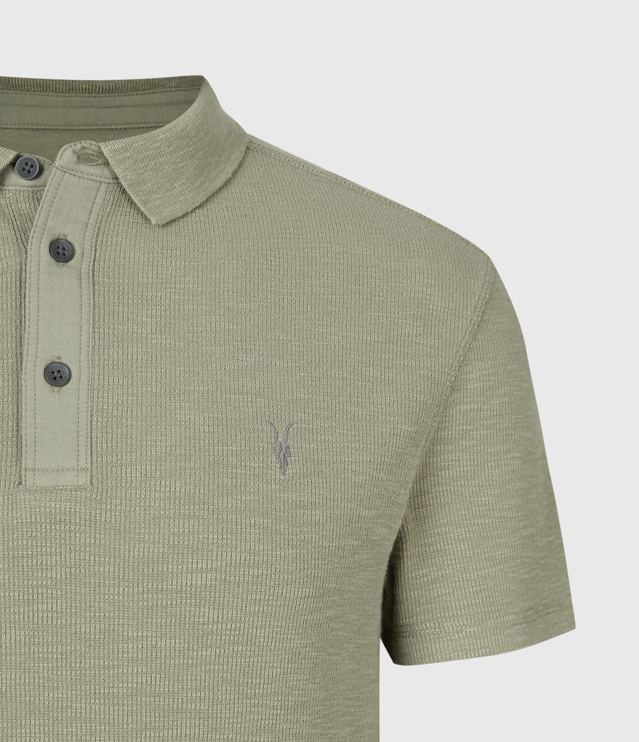Men's Muse Short Sleeve Polo Shirt (flint_grey) - Image 4