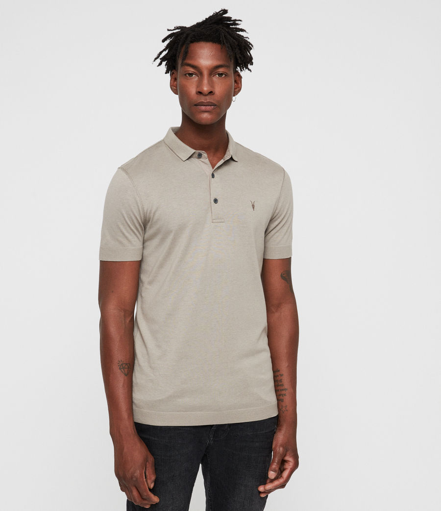 Men's Parlour Polo (mine_grey) - Image 1