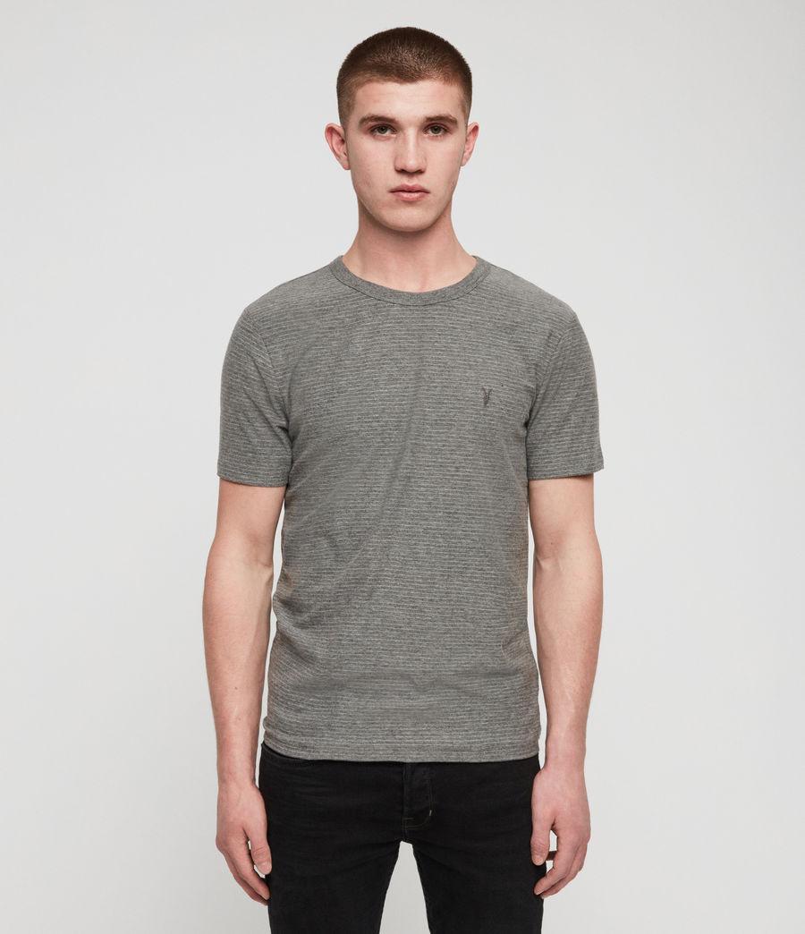 Men's Raphael Crew T-Shirt (grey_white) - Image 1