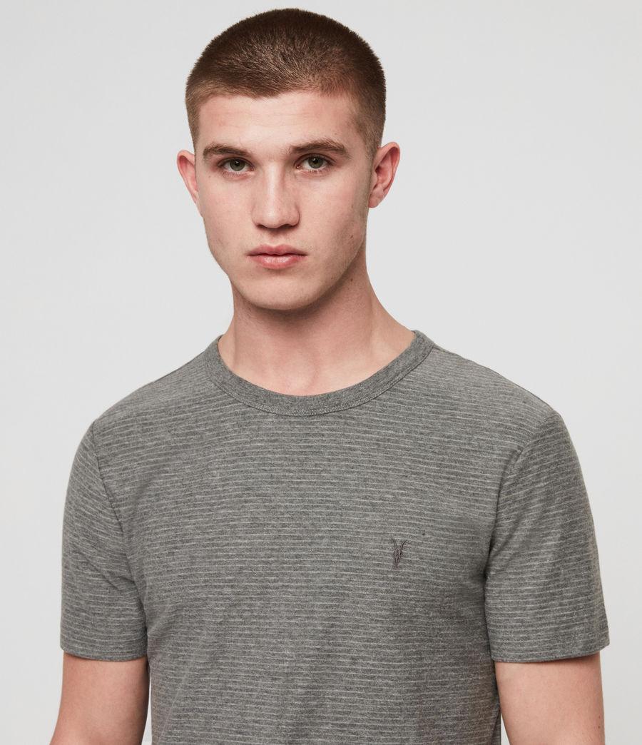 Men's Raphael Crew T-Shirt (grey_white) - Image 2
