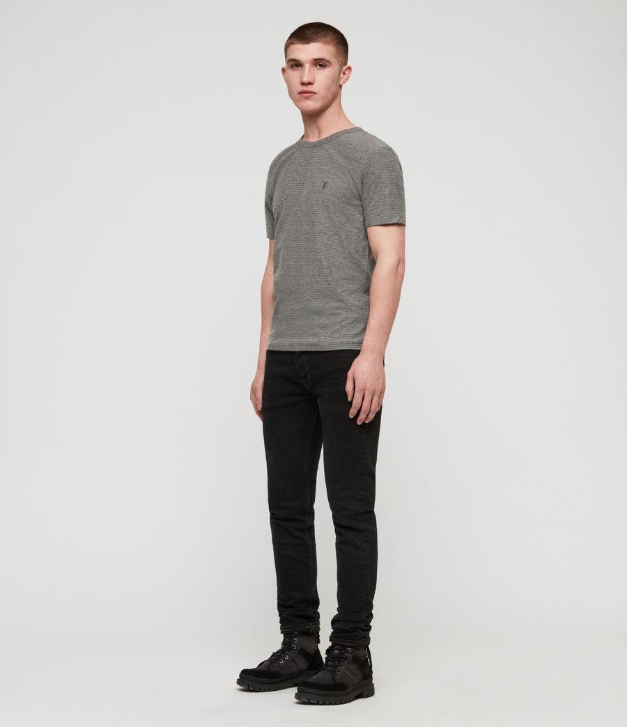 Men's Raphael Crew T-Shirt (grey_white) - Image 3