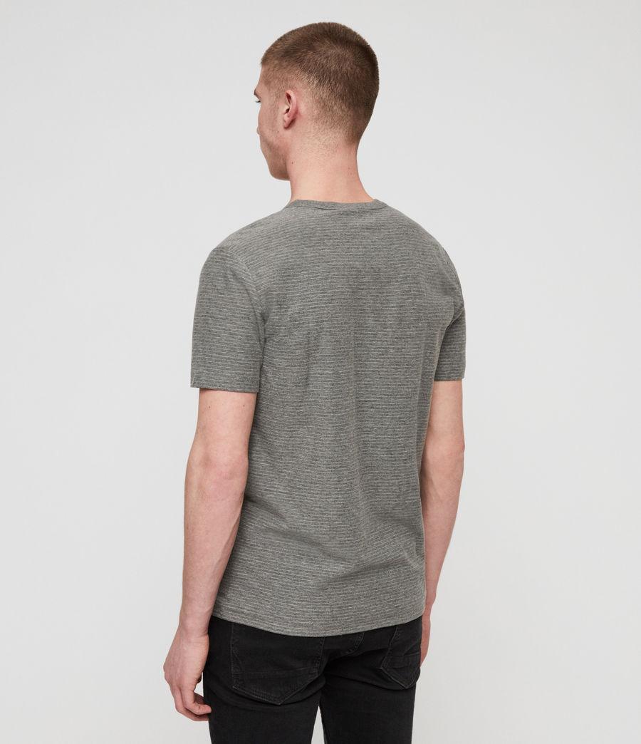 Hombres Camiseta Raphael (grey_white) - Image 4