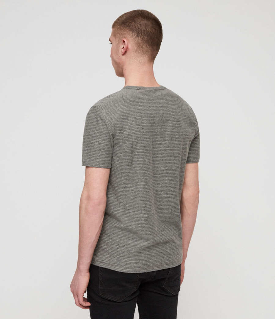 Men's Raphael Crew T-Shirt (grey_white) - Image 4