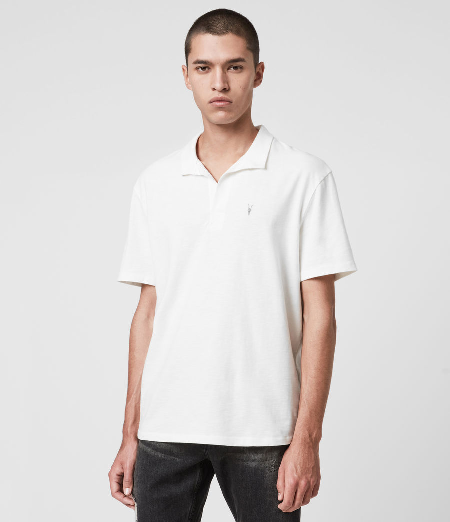 Men's Ryker Polo Shirt (chalk_white) - Image 4