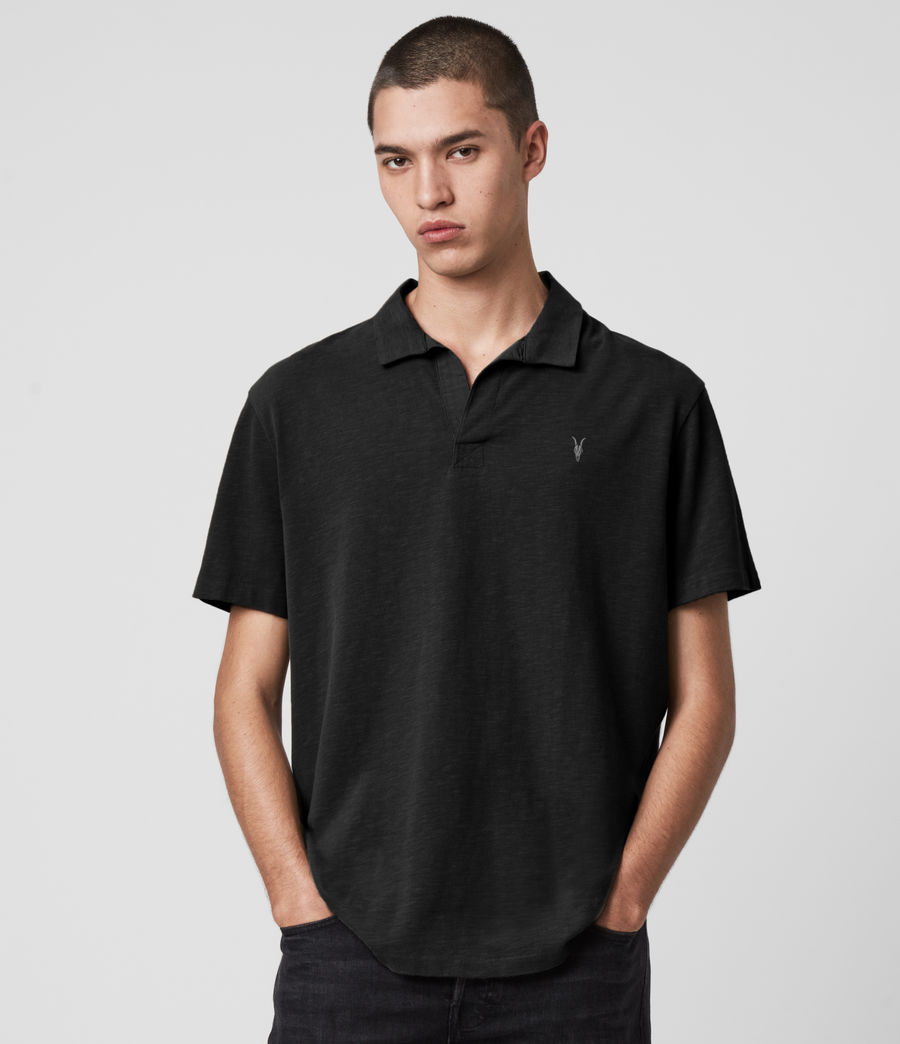 Hombres Ryker Polo Shirt (jet_black) - Image 1