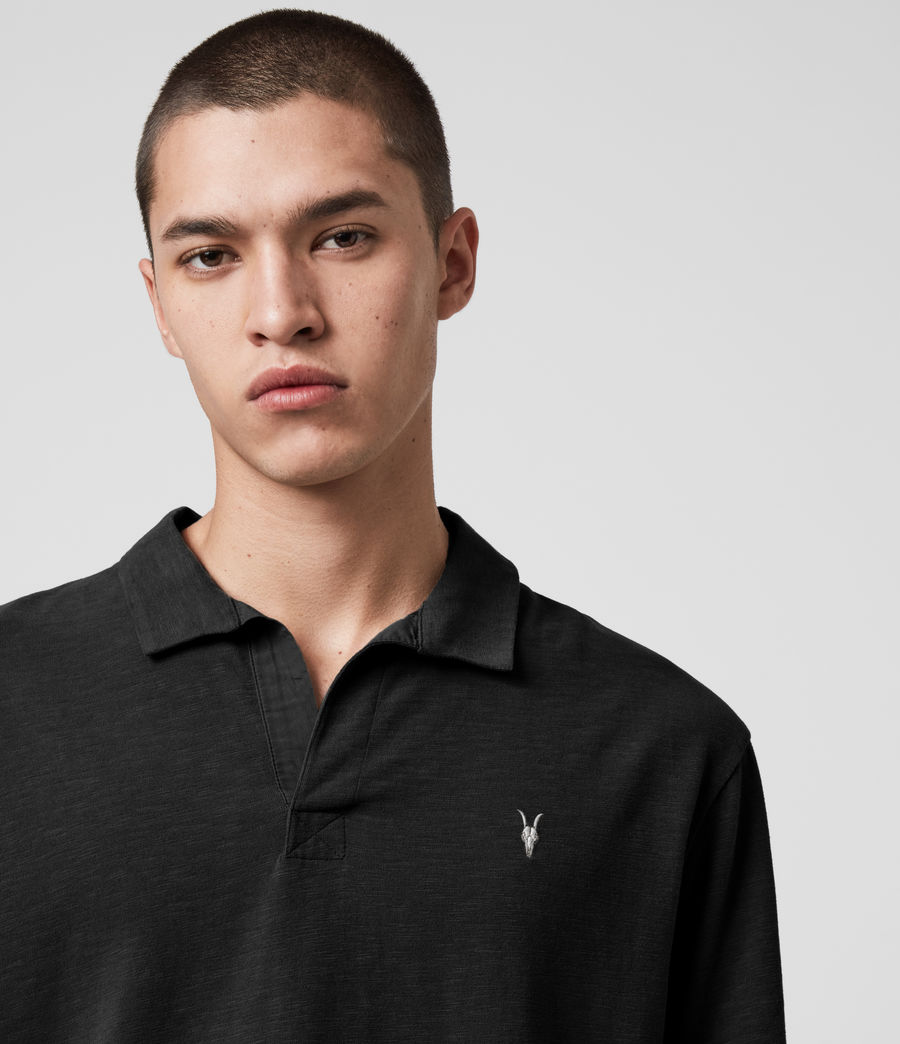 Hombres Ryker Polo Shirt (jet_black) - Image 2