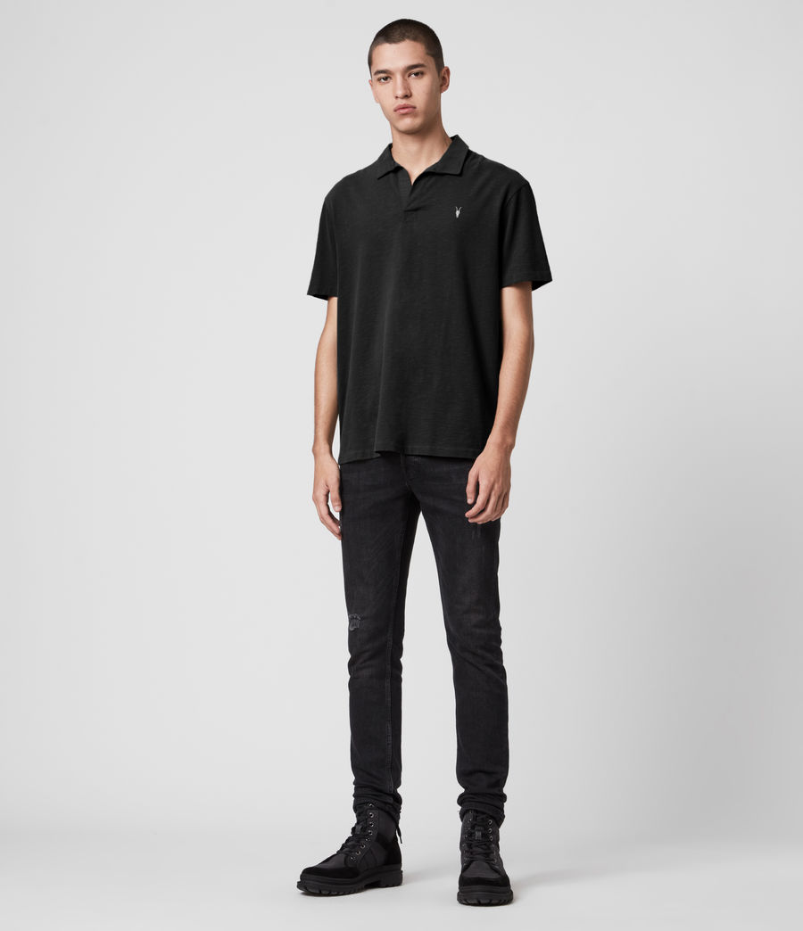 Hombres Ryker Polo Shirt (jet_black) - Image 3