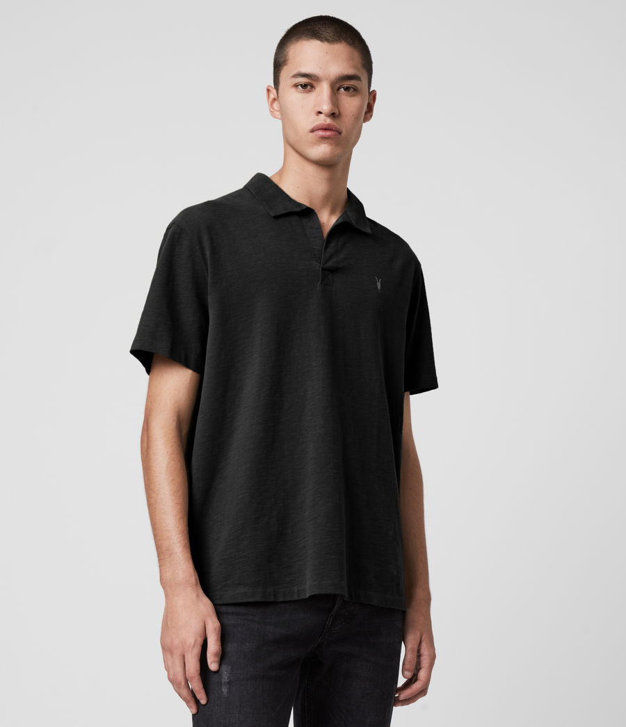 Hombres Ryker Polo Shirt (jet_black) - Image 4
