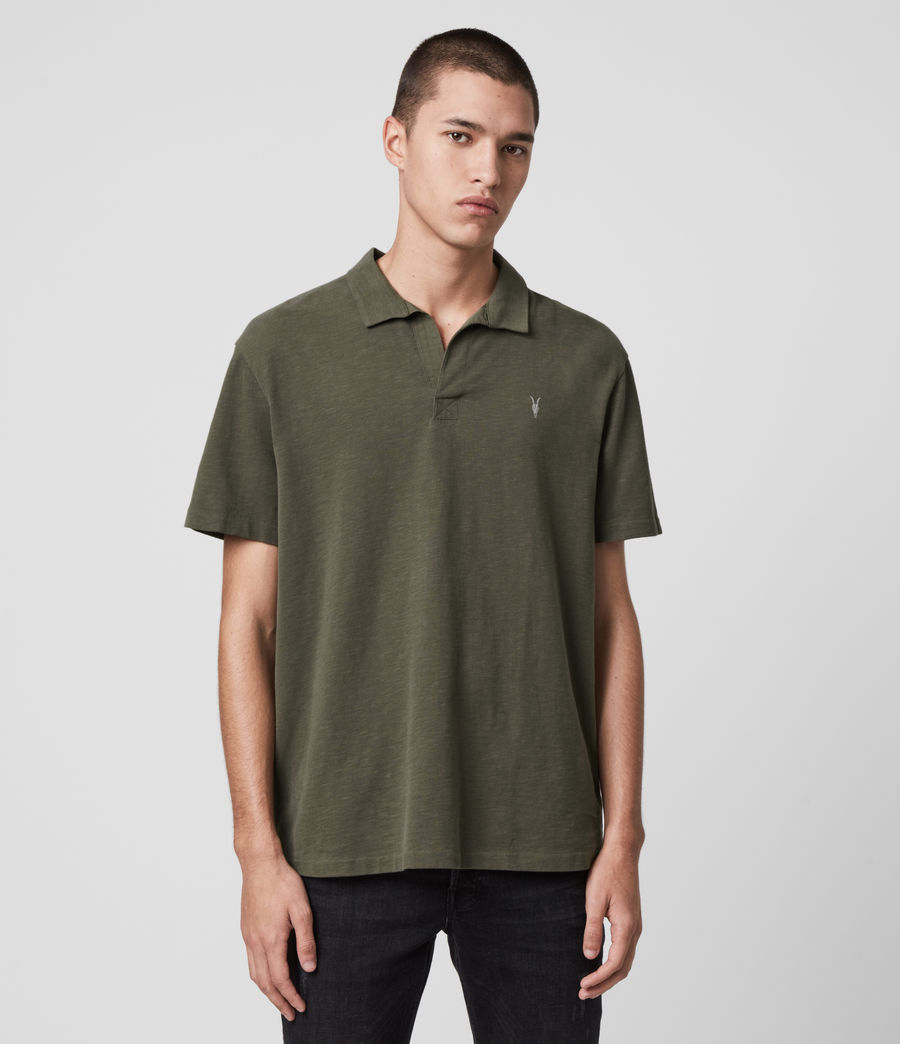 Mens Ryker Polo Shirt (burnt_khaki) - Image 1