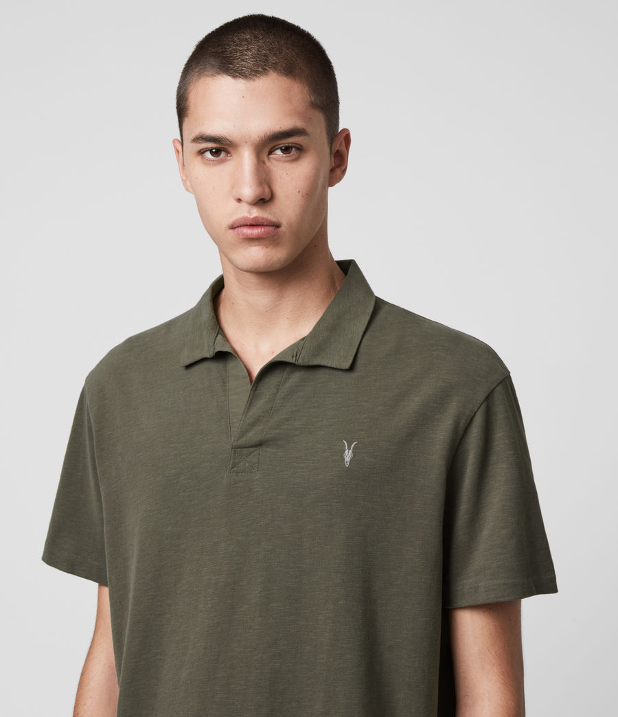 Mens Ryker Polo Shirt (burnt_khaki) - Image 2