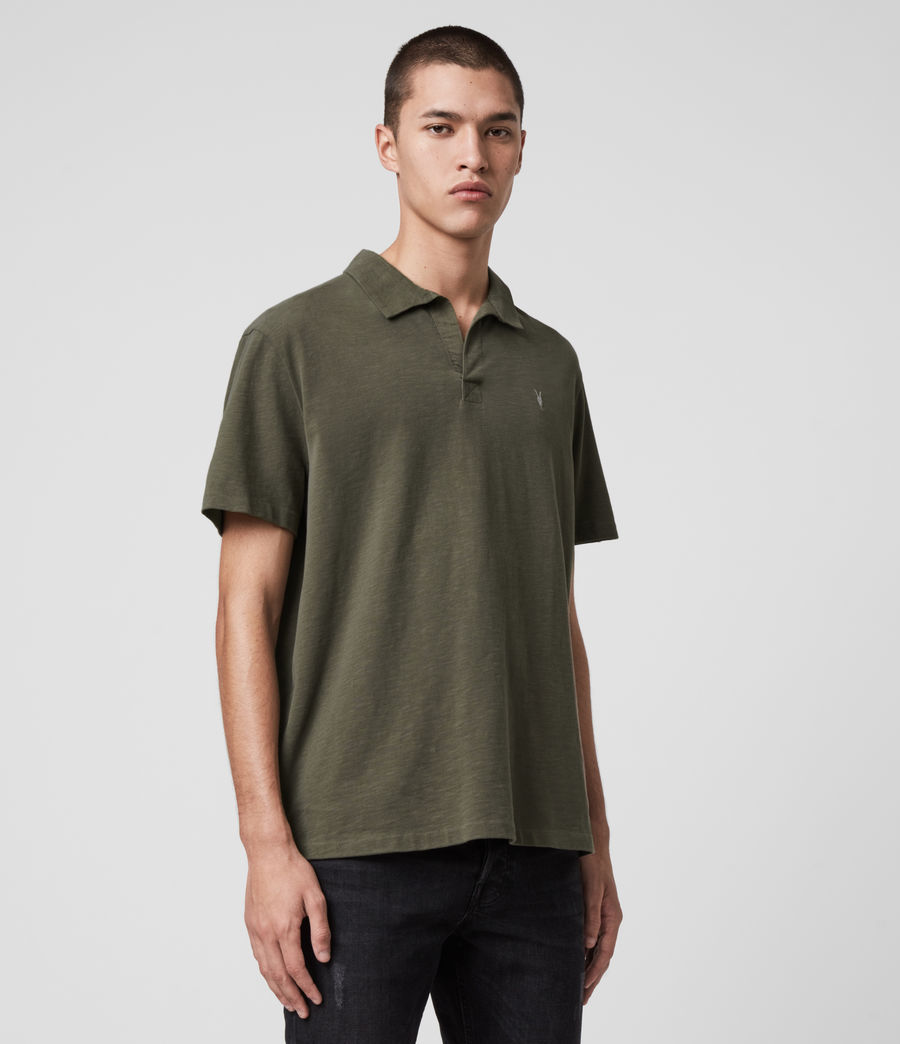 Mens Ryker Polo Shirt (burnt_khaki) - Image 4