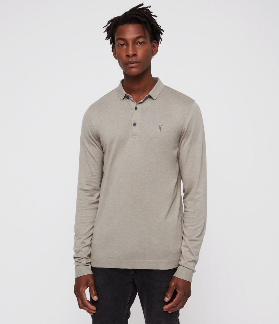 Uomo Parlour Polo Shirt (mine_grey) - Image 1