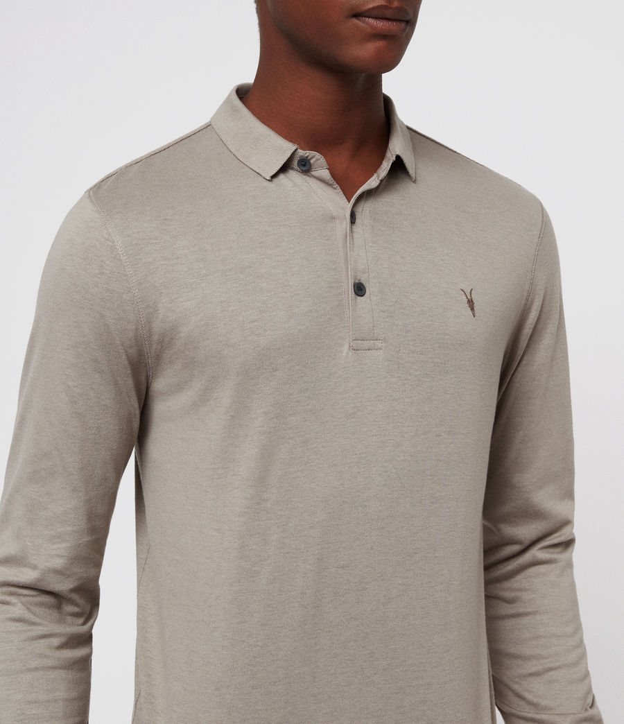 Uomo Parlour Polo Shirt (mine_grey) - Image 2