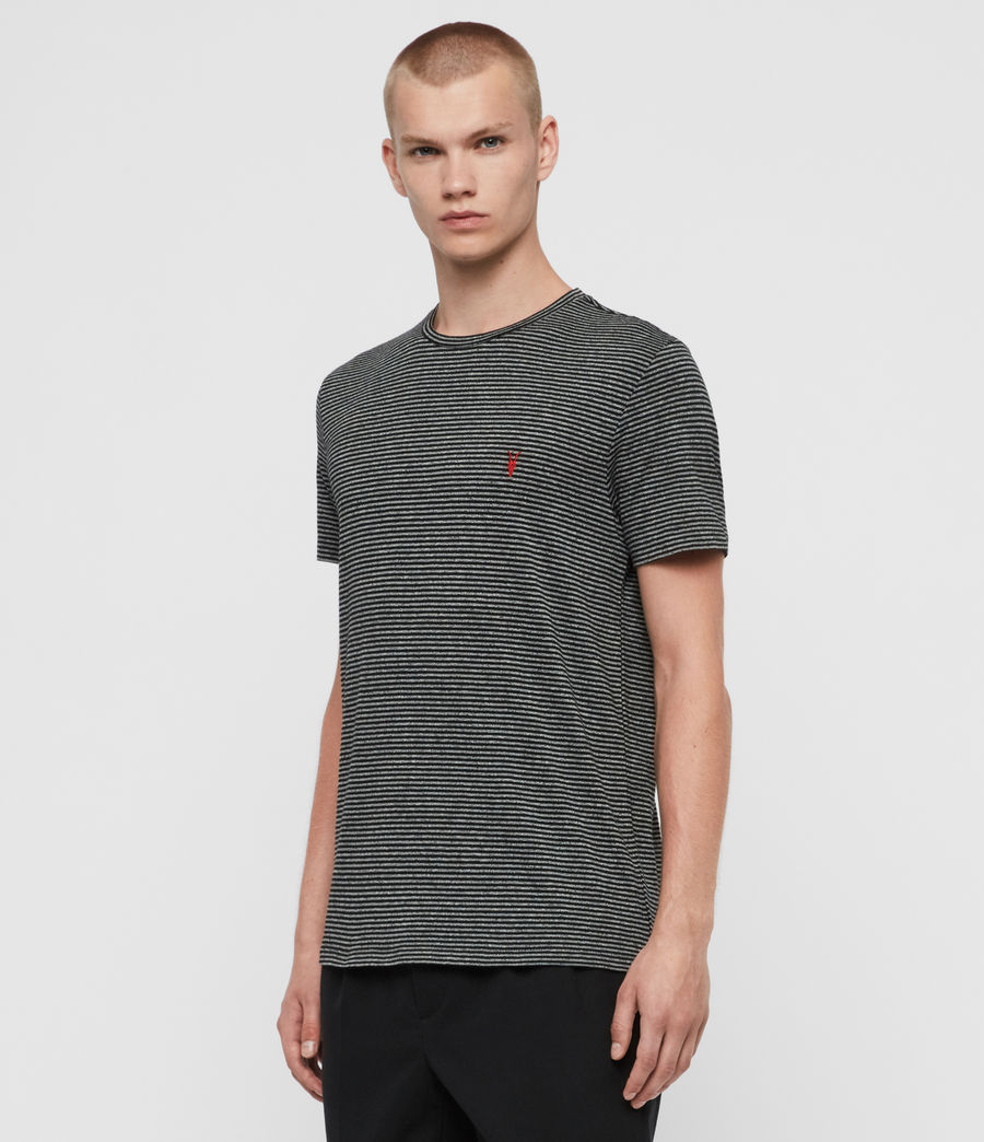 Men's Dalton Crew T-Shirt (grey_marl_black) - Image 4