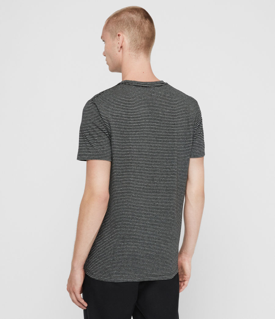 Men's Dalton Crew T-Shirt (grey_marl_black) - Image 5
