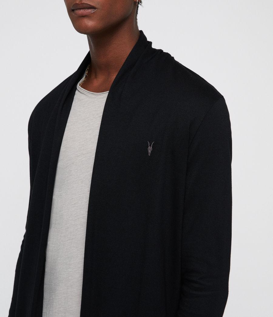 Hombre Parlour Open Cardigan (jet_black) - Image 2