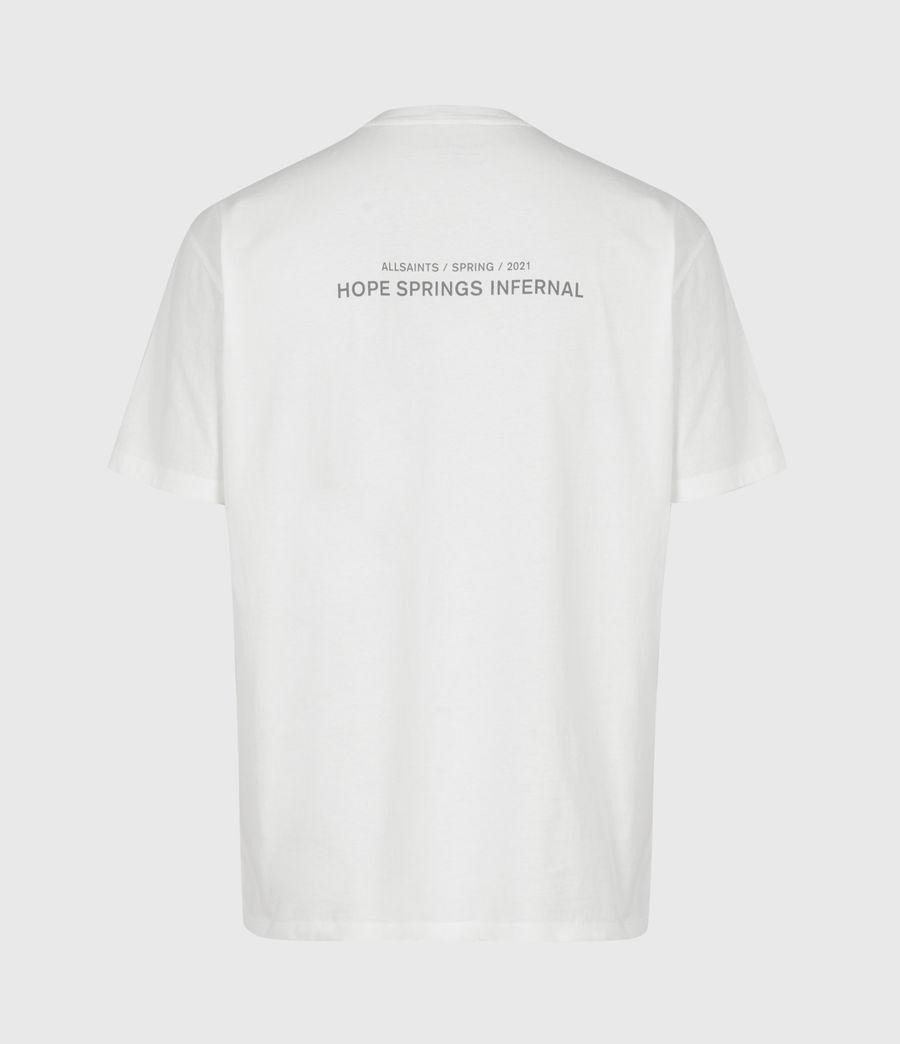Mens Hadean Crew T-Shirt (natural_ecru) - Image 3