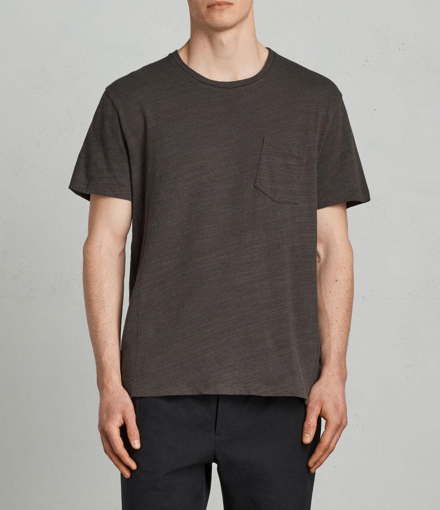 Herren Tye T-Shirt (washed_black) - Image 1